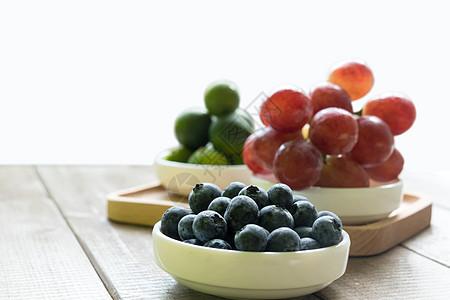 提子蓝莓金桔组合图片