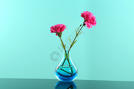 水晶花瓶图片