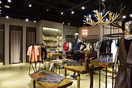 现代时尚装修 时装店图片