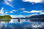泸沽湖初秋图片
