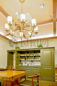 现代简约简欧式家装家居家具厨房客厅柜子吊灯图片