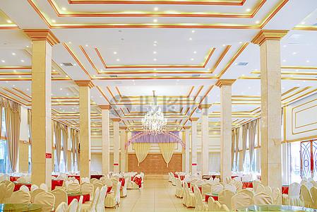 现在简约简欧风格暖色调的酒店茶楼装修装饰设计图片