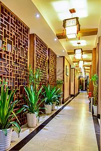 中式风中国风古典雅致酒店茶楼装修图片