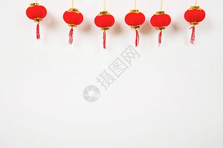喜庆新春搭配饰品挂饰摆拍图片