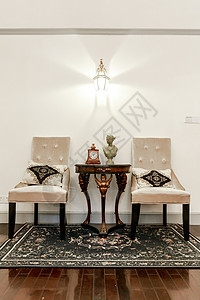 温馨家具明亮大气装饰客厅图片