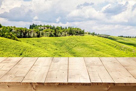 木板桌背景素材图片