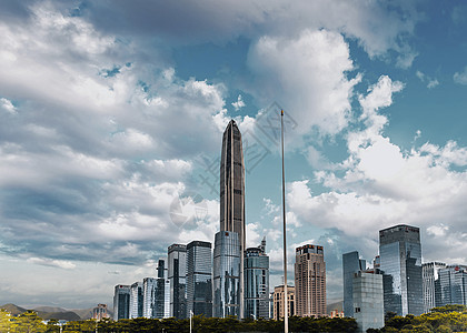 深圳平安金融大厦图片