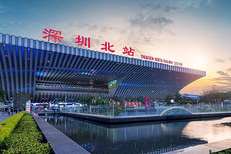 深圳北站高铁站图片