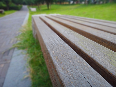 公园里的板凳图片