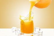 橙子茶壶图片