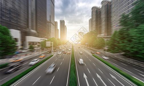 城市的马路图片
