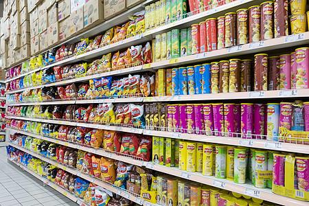 商场超市购物场景背景图片