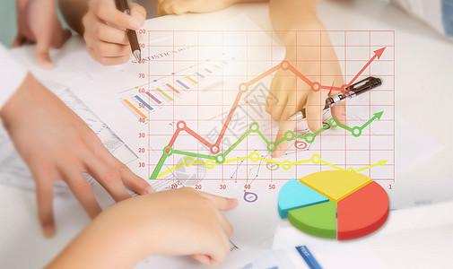 商务金融报表分析图片