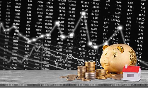 金融投资炒房房地产广告图片