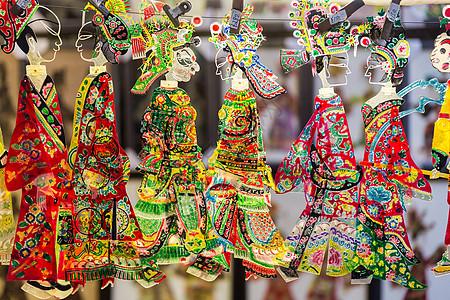 中国传统皮影戏道具图片