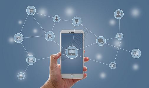 物联网大数据打通智能手机与互联网图片