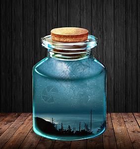 瓶中而是的世界图片