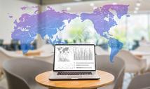 互联网商务图表数据图片