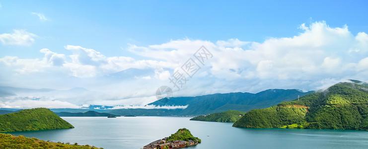 山水天图片
