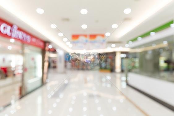 城市超市环境背景虚化图片