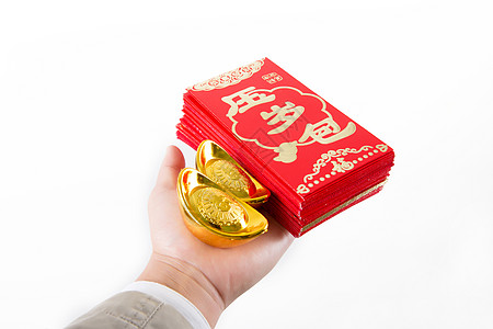 年轻男性春节礼品展示图片