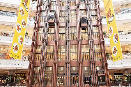高档商场科技直梯展示图片