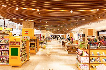 大型商场玩具场景展示图片