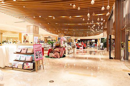 大型商场家纺购物场景展示图片