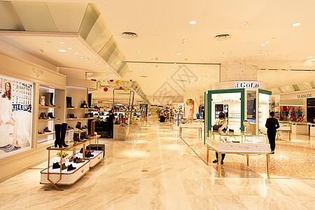 高档女性商品购物场景展示图片