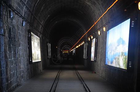 城市的铁路图片