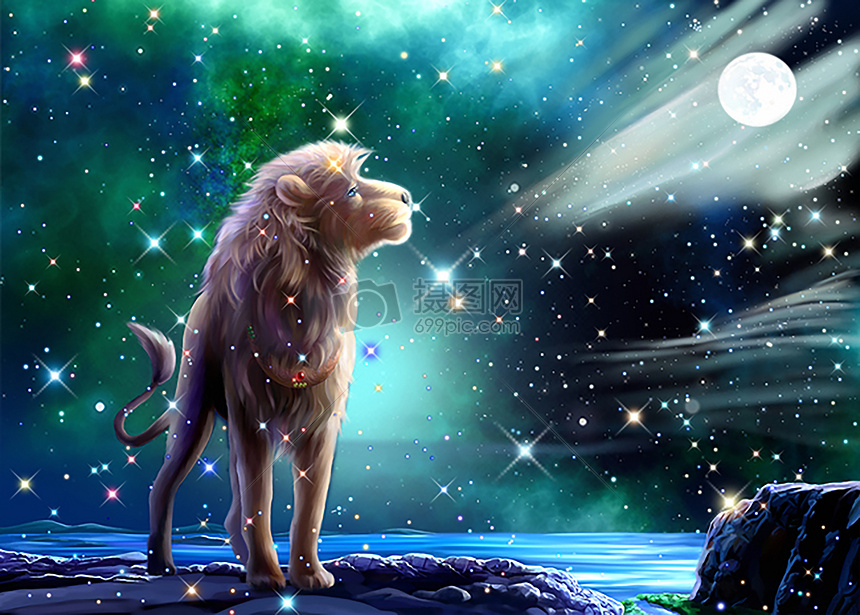 唯美图片 背景素材 狮子座jpg  分享: qq好友 微信朋友圈 qq空间 新浪