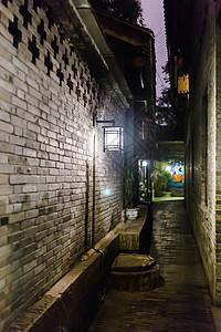 成都巷子景点夜景图片