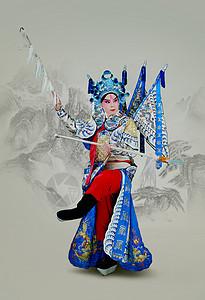 京剧赵云图片
