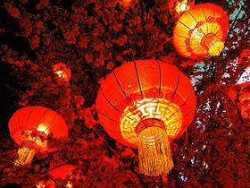红红的灯笼图片