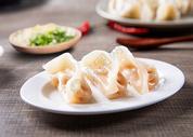 中国四川成都特色小吃冒菜之虾饺图片