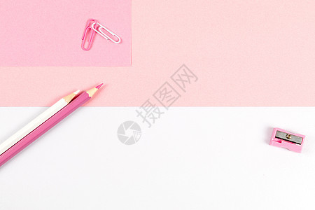 粉色撞色背景素材图片