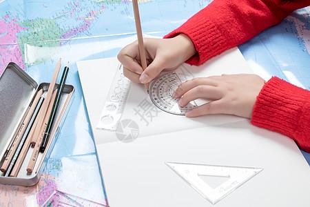 图纸规划设计概念场景图片