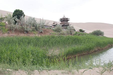 鸣沙山-月牙泉风景图片