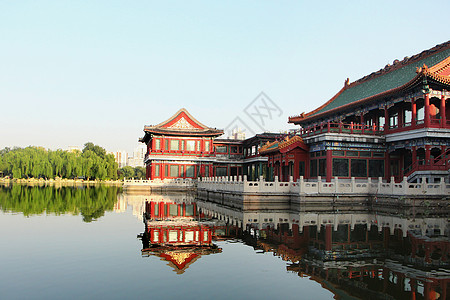 中国古建筑的美图片
