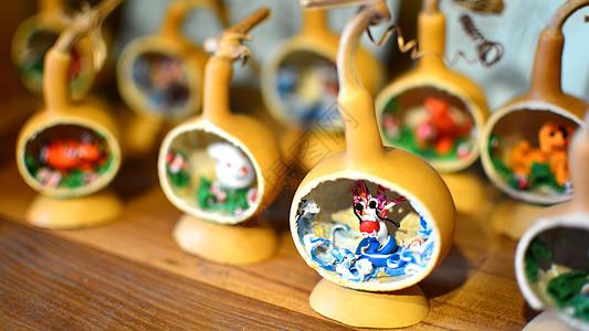 老北京传统葫芦微雕图片