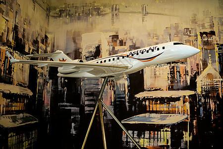航空飞机模型图片