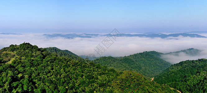 终南山、高寒川风光图片