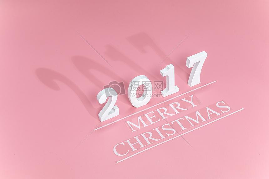 2017字体圣诞背景图片