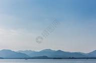 杭州西湖水墨般山水风景图片