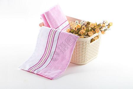 五颜六色的毛巾图片