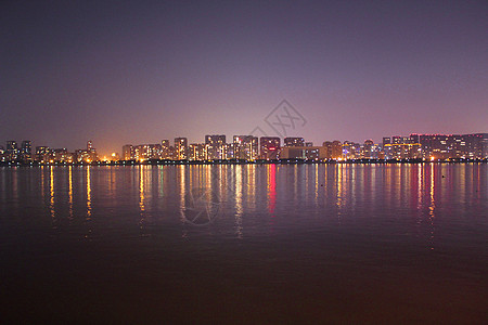 炫彩夜景图片