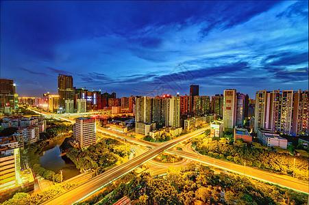 广州天河立交图片