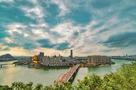环岛城市风光图片