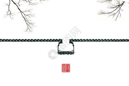 极简中国风建筑图片大全