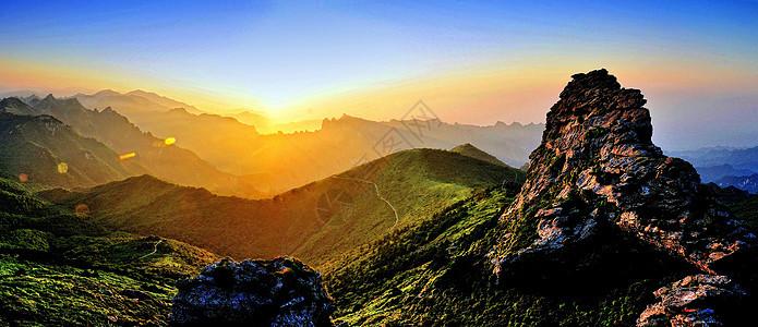 西安周边自然风光图片